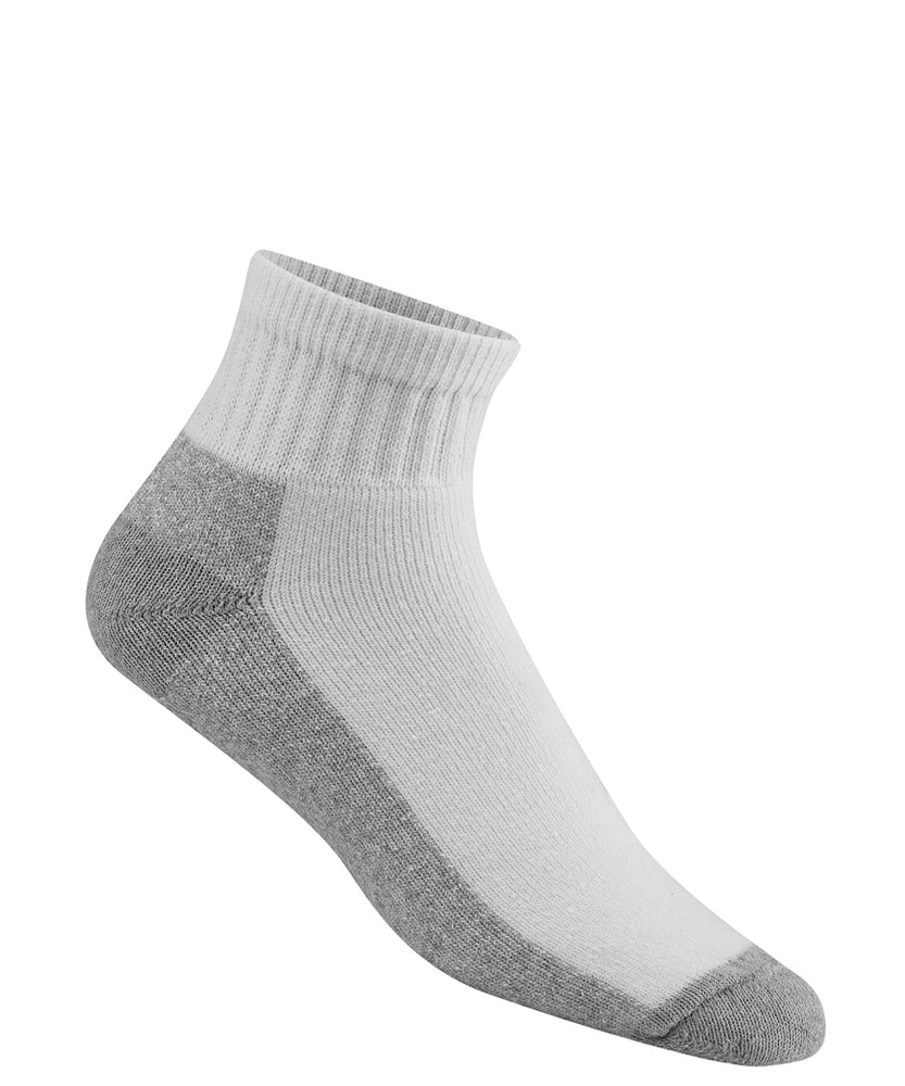 Wigwam At Work Quarter Socks - 3 pack - White