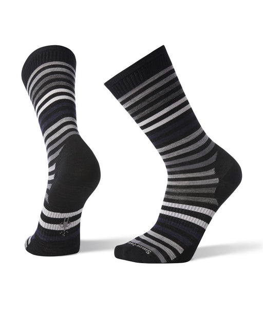 Smartwool Men's Spruce Street Crew Socks in Black at Dave's New York
