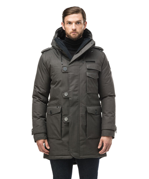Nobis Men's The Shelby Military Parka - Steel