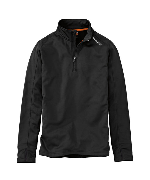 Timberland PRO Understory Quarter-Zip Fleece in Jet Black at Dave's New York