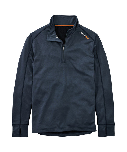 Timberland PRO Understory Quarter-Zip Fleece in Navy Heather at Dave's New York