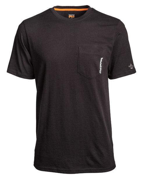 Timberland Pro Base Plate Blended T-Shirt in Jet Black at Dave's New York