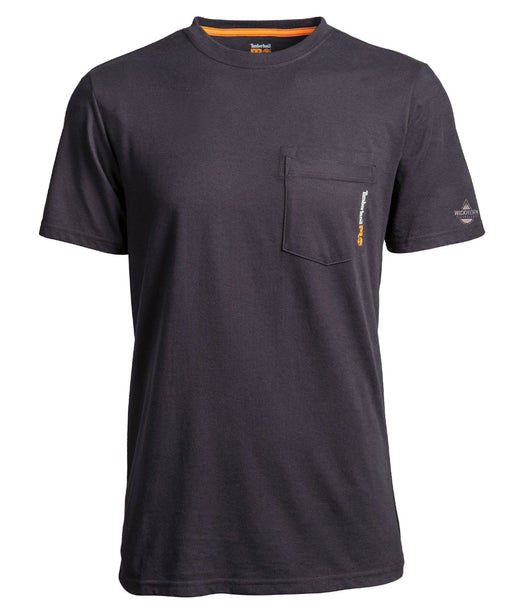 Timberland Pro Base Plate Blended T-Shirt in Dark Navy at Dave's New York