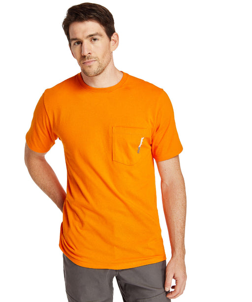 Timberland Pro Base Plate Wicking T-Shirt in PRO Orange at Dave's New York