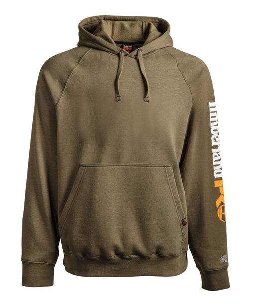 Timberland PRO Hood Honcho Sport Pullover Hooded Sweatshirt in Burnt Olive at Dave's New York