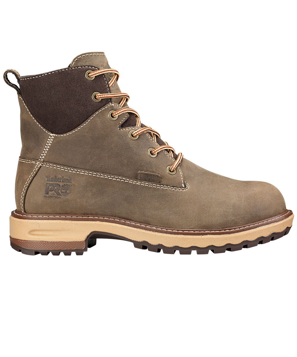 Hightower Alloy Toe Work Boots - Brown