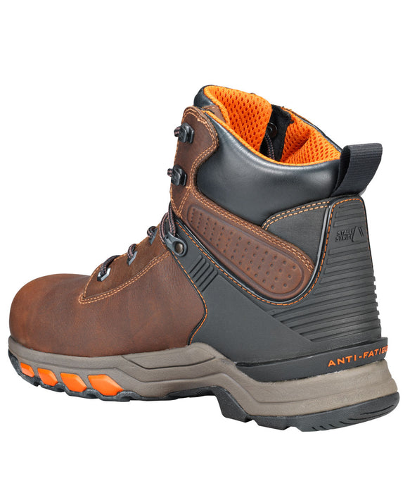 Timberland PRO Hypercharge Composite Toe Work Boots - A1Q54 in Brown at Dave's New York