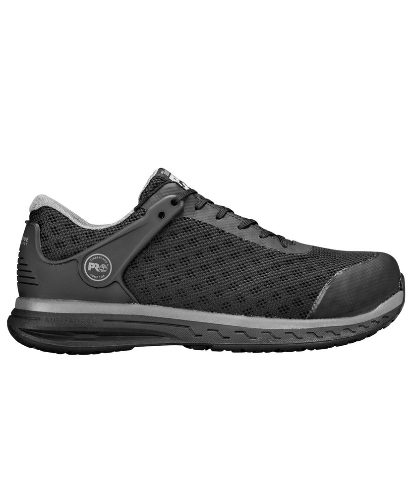 Timberland PRO Drivetrain Composite Toe Work Shoes - A1RVF - Black