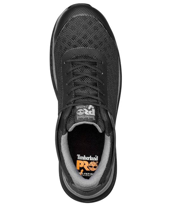 Timberland PRO Drivetrain Composite Toe Work Shoes - A1RVF in Black at Dave's New York
