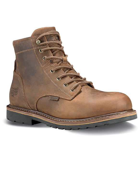 Timberland PRO Millworks Soft Toe Waterproof Work Boots - A1S3Q