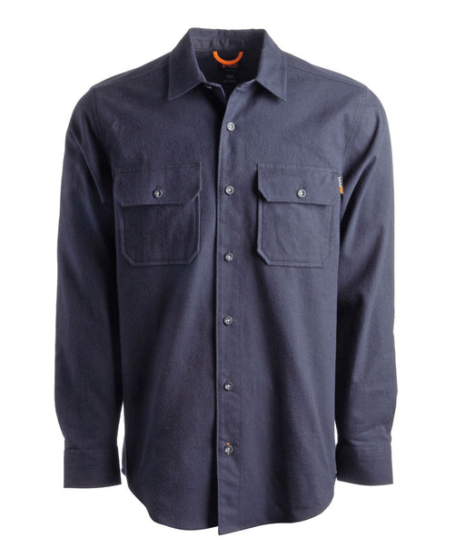 Timberland PRO Woodfort Heavy-Weight Flannel Shirt - Dark Navy at Dave's New York