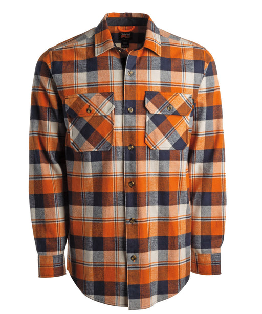 Timberland PRO Woodfort Heavy-Weight Flannel Shirt - Autumn Plaid at Dave's New York