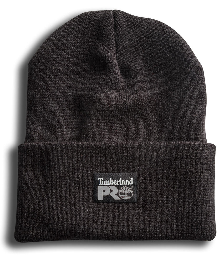 Timberland PRO Acrylic Knit Watch Cap Beanie in Black at Dave's New York