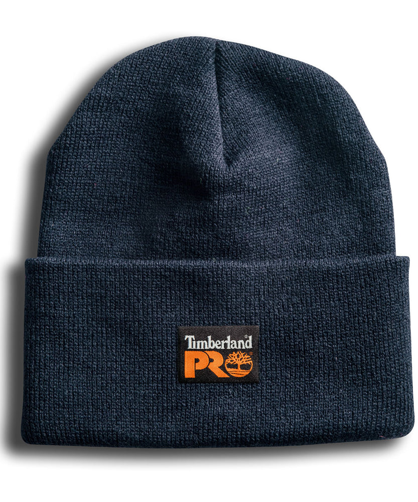 Timberland PRO Acrylic Knit Watch Cap Beanie in Dark Navy at Dave's New York