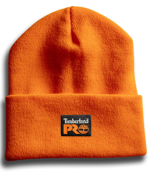 Timberland PRO Acrylic Knit Watch Cap Beanie in PRO Orange at Dave's New York