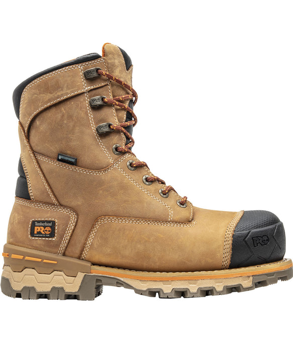 Timberland PRO® Men's Boondock 8-inch Safety Toe Work Boots - Wheat at Dave's New York