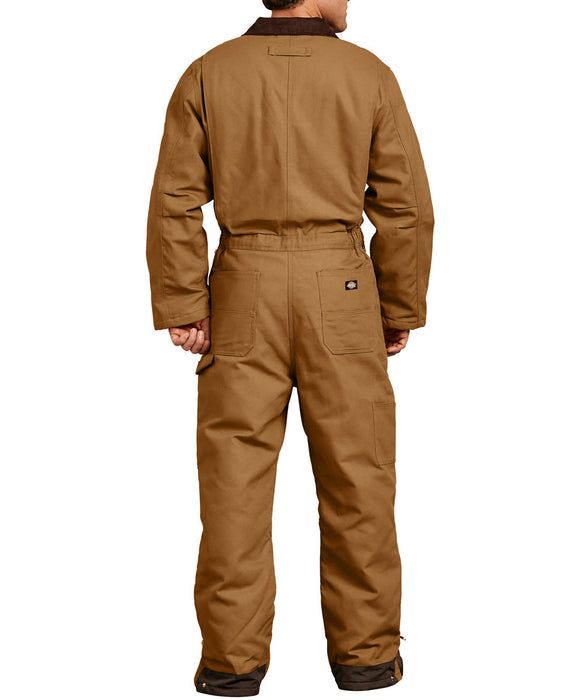 Dickies Premium Insulated Canvas Duck Coverall in Brown Duck at Dave's New York