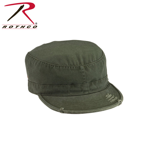 Rothco Vintage Fatgiue Cap in Olive Drab at Dave's New York