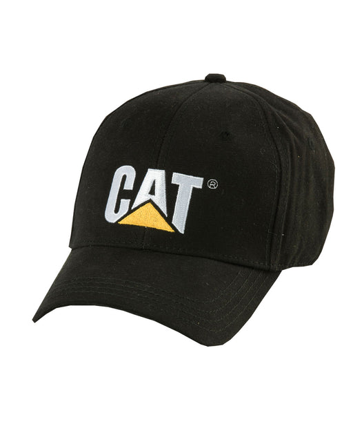 Caterpillar Trademark Cap - Black at Dave's New York