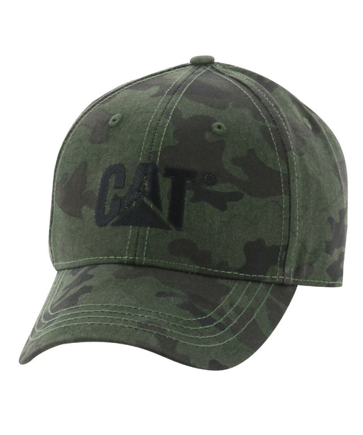 Caterpillar Trademark Cap - Night Camo at Dave's New York