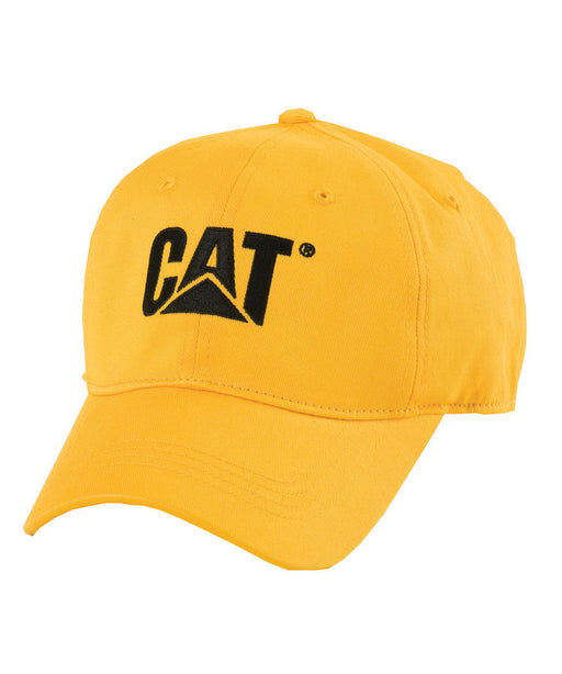 Caterpillar Trademark Cap - Yellow at Dave's New York