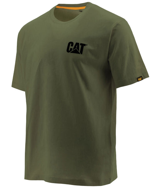 Caterpillar Short Sleeve Trademark T-Shirt - Chive at Dave's New York