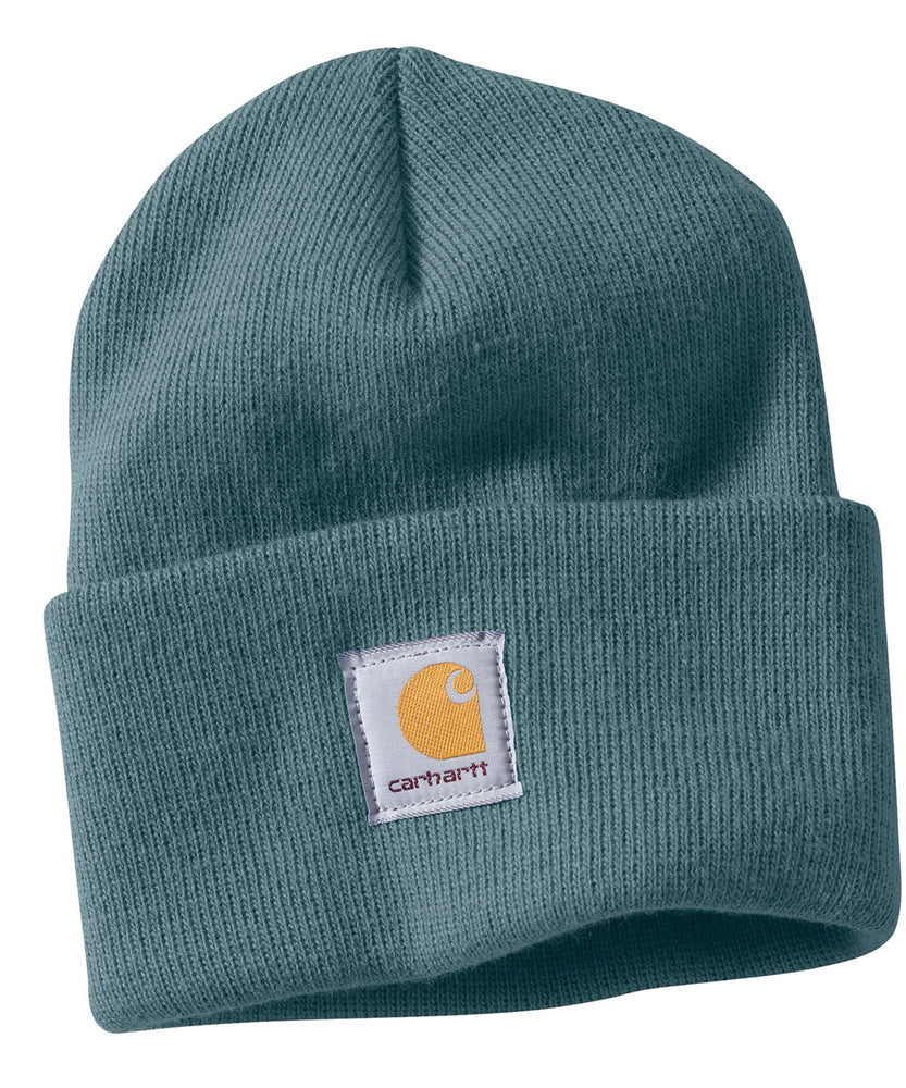 Carhartt WA018 Acrylic Knit Watch Hat - Sea Glass