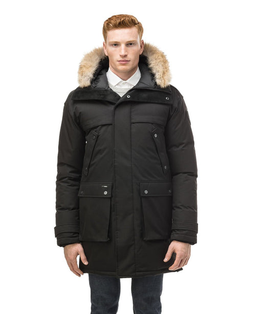 Nobis Men's Yatesy Parka - Black