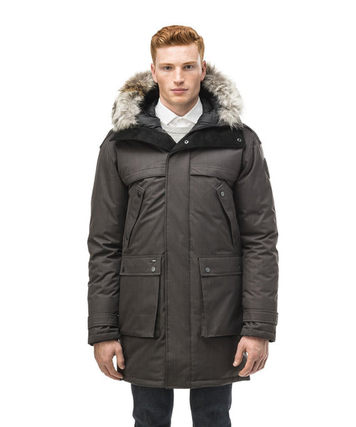Nobis Men's Yatesy Parka - Steel Grey
