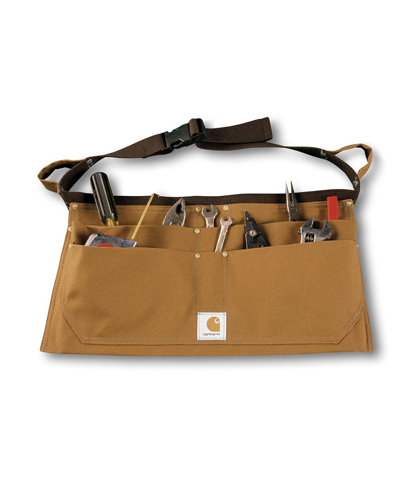 Carhartt Duck Nail Apron in Carhartt Brown at Dave's New York