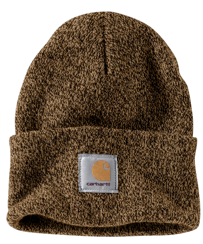Carhartt A18 Watch Hat (Beanie) in Dark Brown Heather at Dave's New York