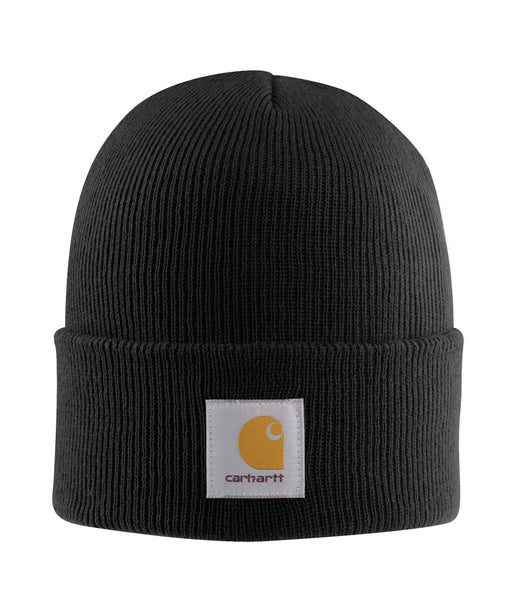 Carhartt A18 Watch Hat (Beanie) in Black at Dave's New York