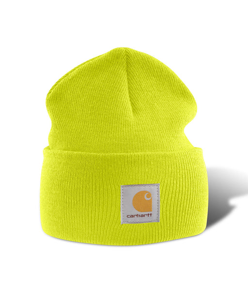 Carhartt A18 Watch Hat (Beanie) in Brite Lime at Dave's New York