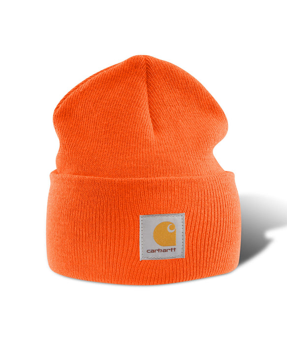 Carhartt A18 Watch Hat (Beanie) in Brite Orange at Dave's New York