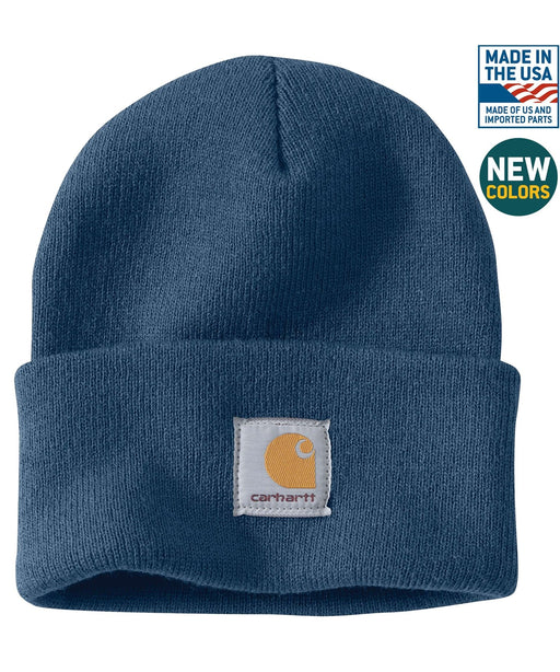 Carhartt A18 Watch Hat (Beanie) - Dark Blue