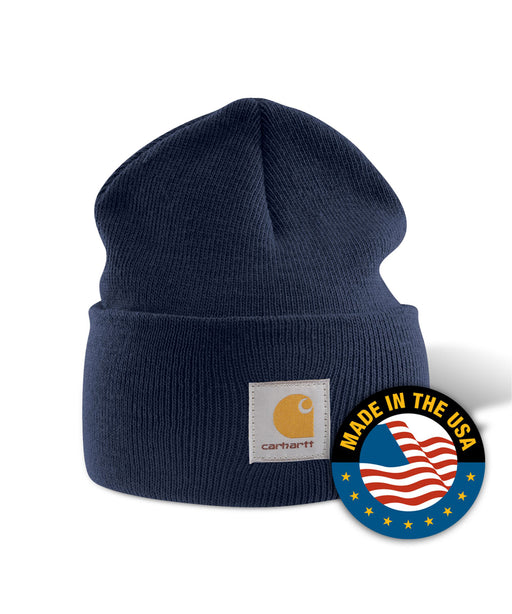 Carhartt A18 Watch Hat (Beanie) in Navy at Dave's New York