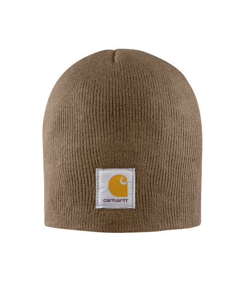 Carhartt A205 Acrylic Knit Hat (Beanie) - Canyon Brown at Dave's New York