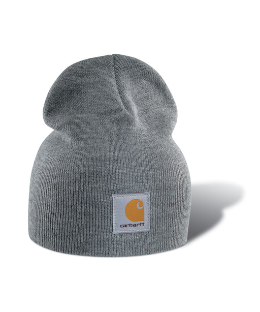 Carhartt A205 Acrylic Knit Hat - Heather Grey