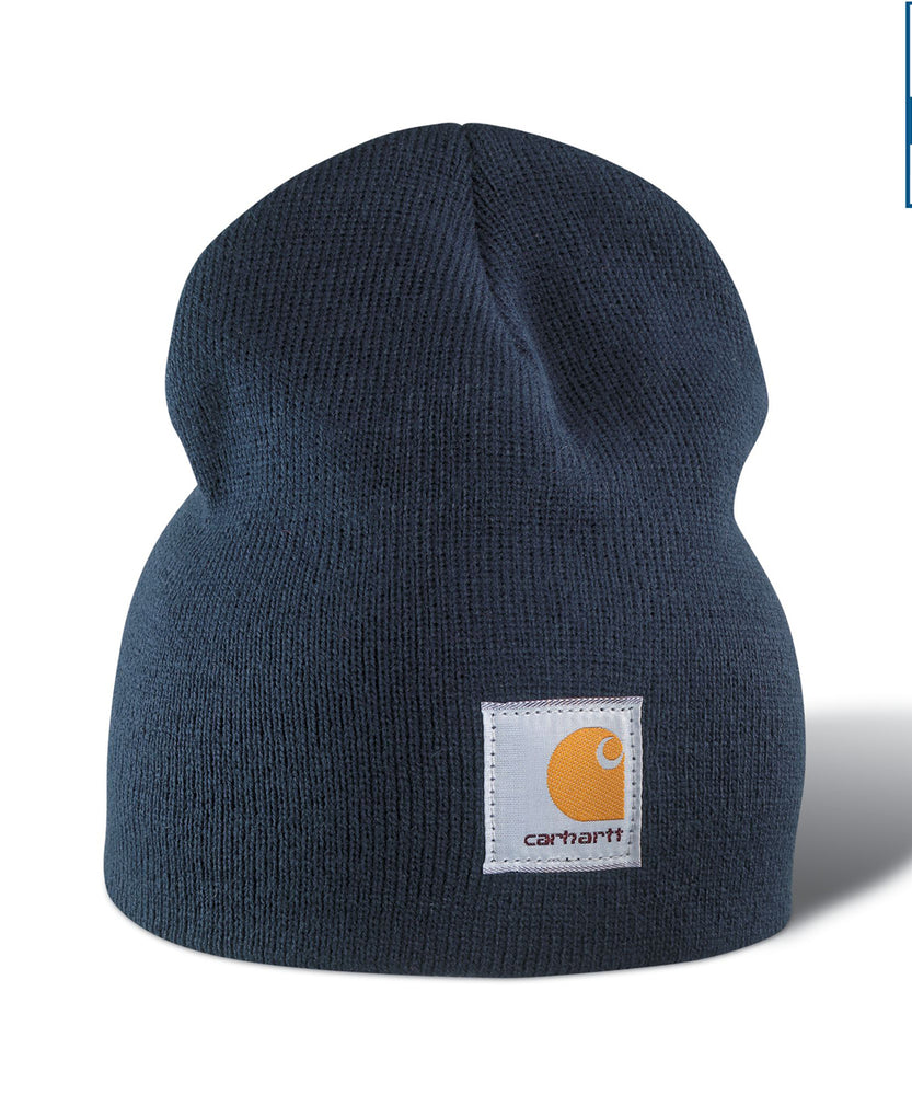 Carhartt A205 Acrylic Knit Hat (Beanie) in Navy at Dave's New York