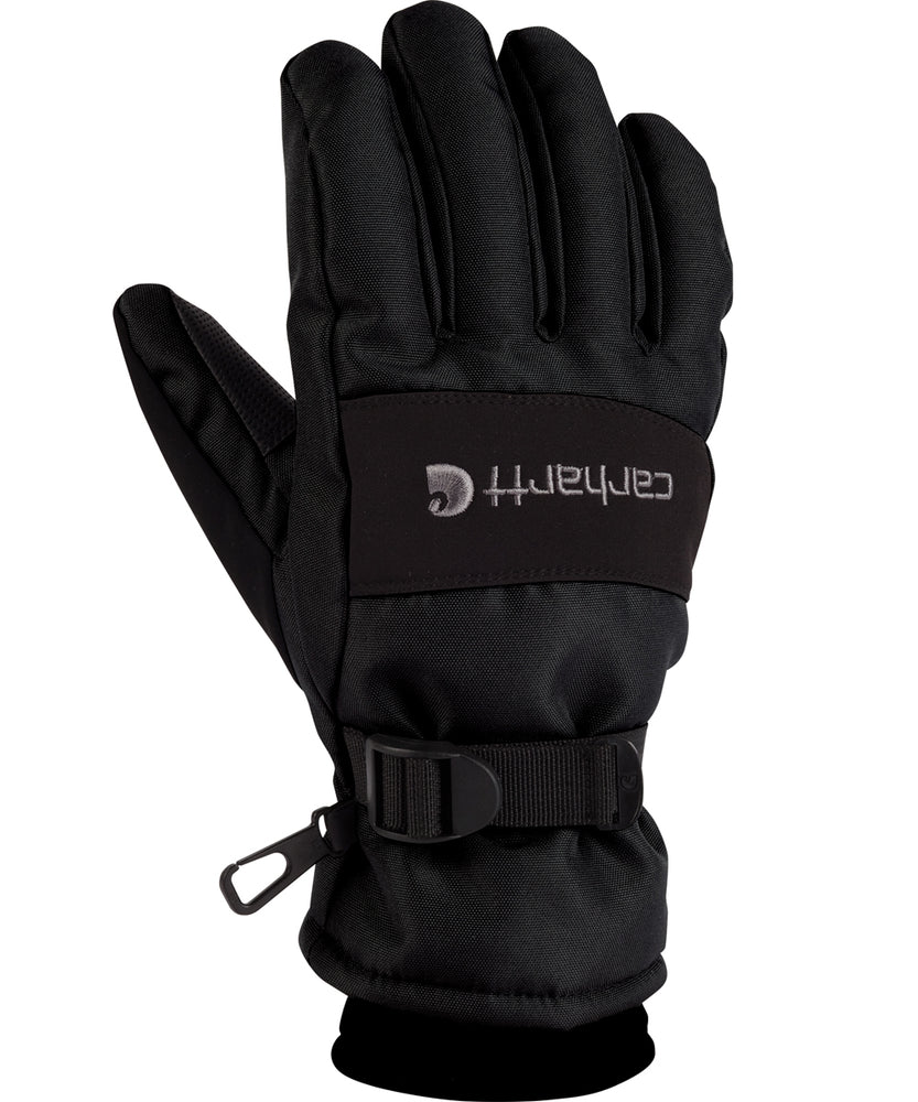 Carhartt Men's Waterproof Insulated GLove in Black at Dave's New York