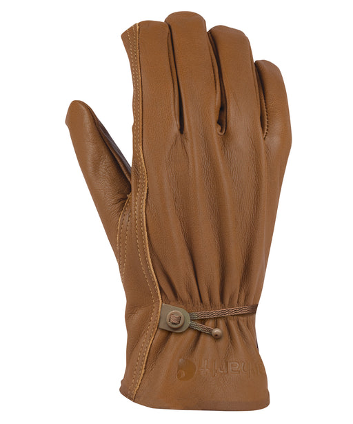 Carhartt Leather Driver Gloves in Brown at Dave's New York