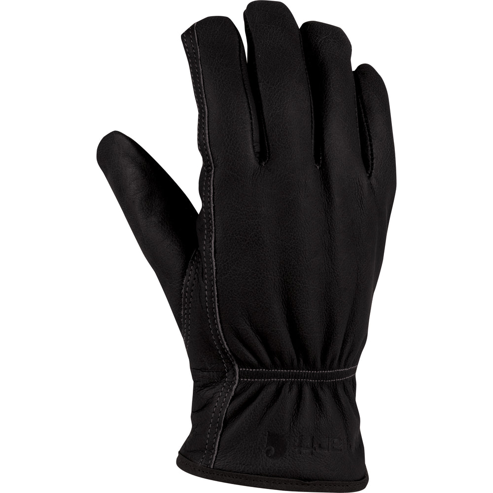 Carhartt A552 Insulated Leather Driver Glove - Black
