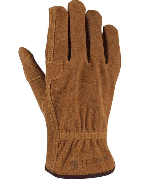 Carhartt Men's Leather Fencer Gloves in Carhartt Brown at Dave's New York