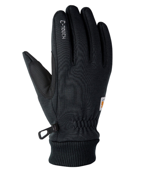 Carhartt C-Tough Fleece Glove in Black at Dave's New York