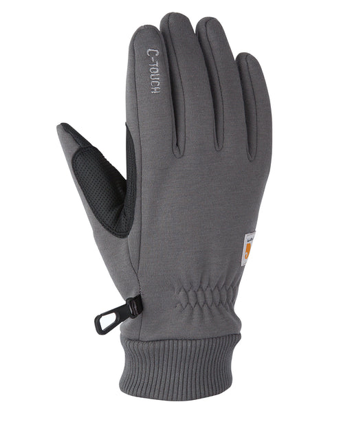Carhartt C-Touch Fleece Glove in Carbon Heather at Dave's New York