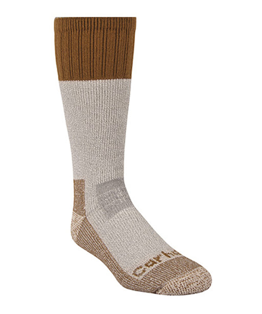 Carhartt A66 Cold Weather Boot Sock – Carhartt Brown