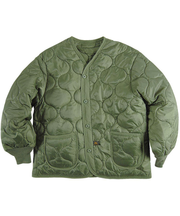 Alpha ALS-92 Field Coat Liner in Olive Drab