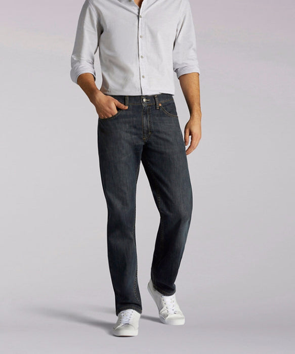 Lee Men's Regular Fit Straight Leg Jeans in Anaconda at Dave's New York