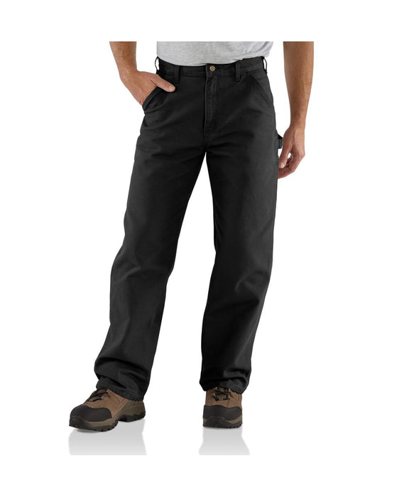 Carhartt B11 Washed Duck Work Dungaree in Black at Dave's New York