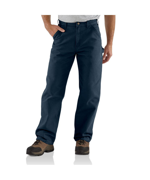Carhartt B11 Washed Duck Work Dungaree Pant in Midnight at Dave's New York